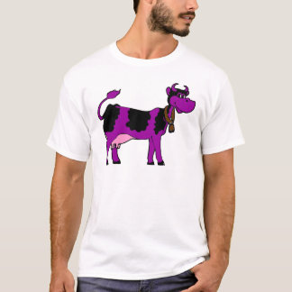 T-shirt Vache pourpre