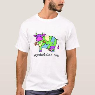 T-shirt vache psychédélique