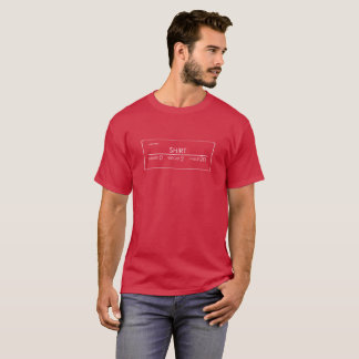 T-shirt Valeur légère de poids d'armure de chemise