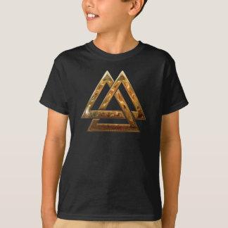 T-shirt Valknut - or