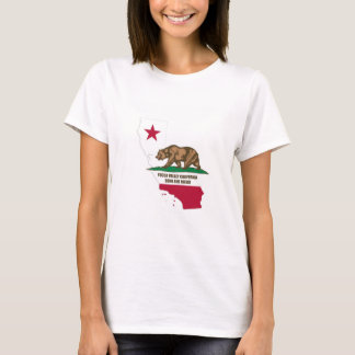 T-shirt Vallée la Californie de yucca soutenue et