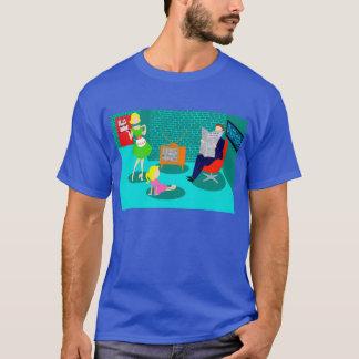 t-shirt van de Televisie van jaren '50 de