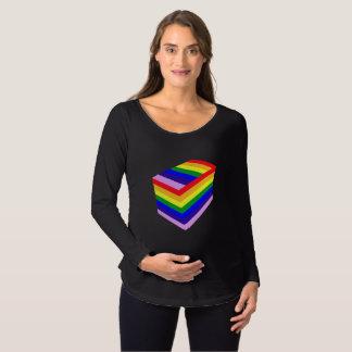 t-shirt van het Sleeve van het Moederschap van de
