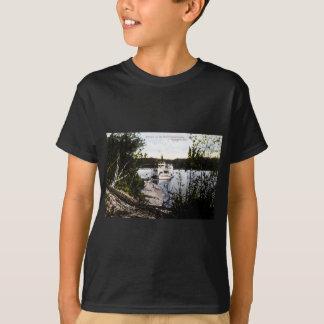 T-shirt Vapeur sur la rivière Saskatchewan, Edmonton, Alta