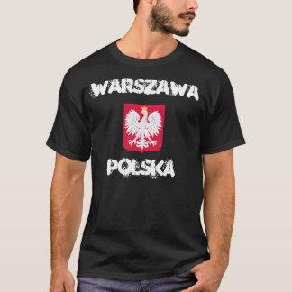 T-shirt Varsovie, Polska, Varsovie, Pologne avec le