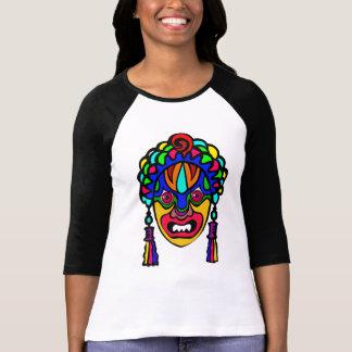 T-shirt Vecteur - africain, masque religieux