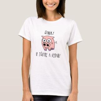 T-shirt Végétalien