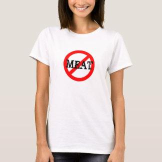 T-shirt Végétalien AUCUNE chemise de VIANDE