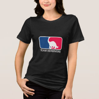 T-shirt Végétalien végétarien herbivore d'équipe