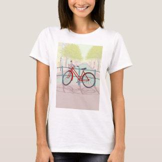 T-shirt Vélo de canal d'Amsterdam