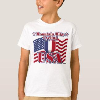 T-shirt Vélo de montagne de recyclage Etats-Unis