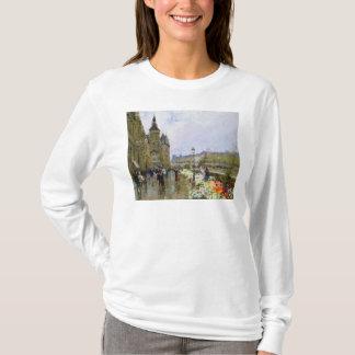 T-shirt Vendeurs de fleur par la Seine
