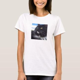 T-shirt Vendredi la pièce en t de chat