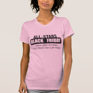 T-shirt Vendredi noir - la guerre est pour des mauviettes