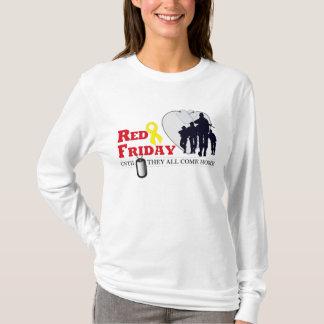 T-shirt Vendredi rouge - jusqu'à eux tous viennent à la