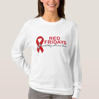 T-shirt Vendredi rouge jusqu'à eux tout viennent à la