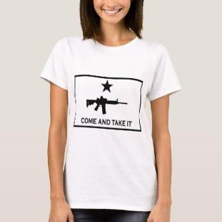 T-shirt Venez il falloir AR-15