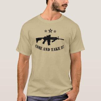 T-shirt venez il falloir l'AR 15