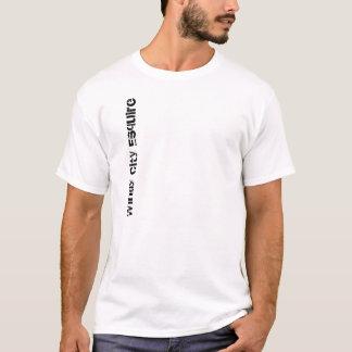 T-shirt venteux d'Esquire Vert de ville