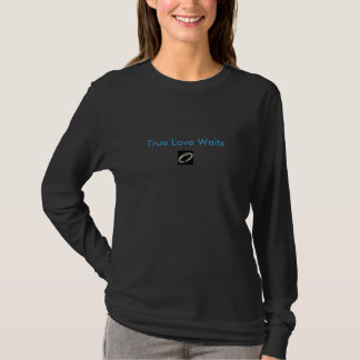 T-shirt Véritable Attente-anneau d'amour