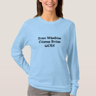 T-shirt Véritable bleu de la connaissance (Femaie)