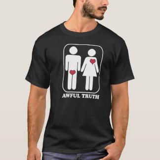 T-shirt Vérité terrible