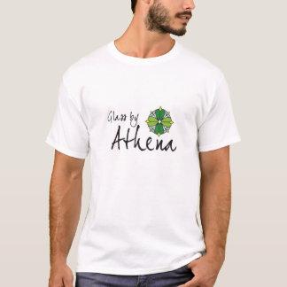 T-shirt Verre par la chemise de logo d'Athéna