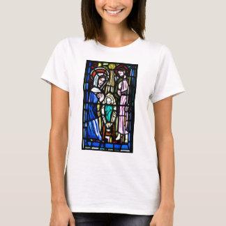T-shirt Verre souillé de Jésus de bébé de l'église de St