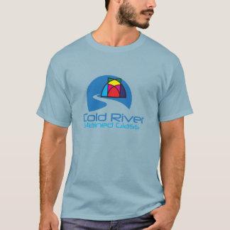 T-shirt Verre souillé de rivière froide