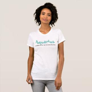 T-shirt Verseau - indépendant et humanitaire
