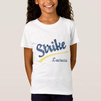 T-Shirt Version 2 de chemise de filles de lacrosse de
