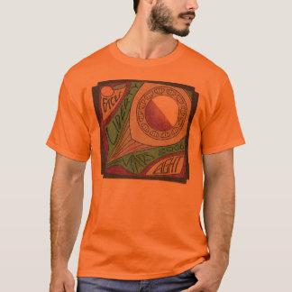T-shirt Version Argent-Originale de Note-Martien de 8