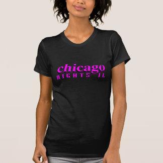 T-shirt Version de dames de nuits de Chicago