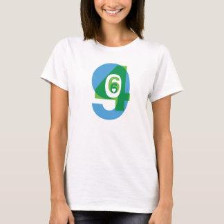 T-shirt Vert/blanc de la couche T de San Bruno