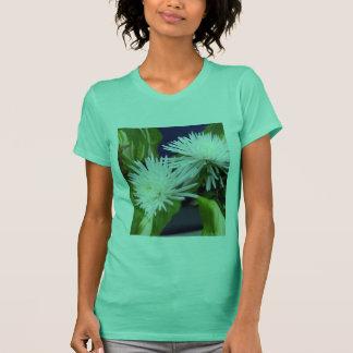 T-shirt Vert blanc de mamans