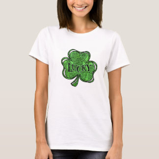 T-shirt vert celtique du jour de Patrick de saint