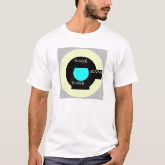 T-shirt vert de blasie de cible de mod