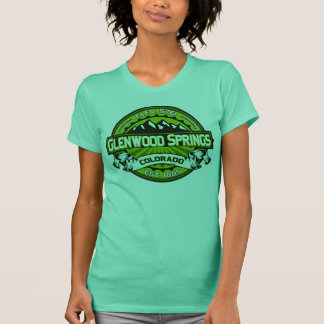 T-shirt Vert de chemise de logo de Glenwood