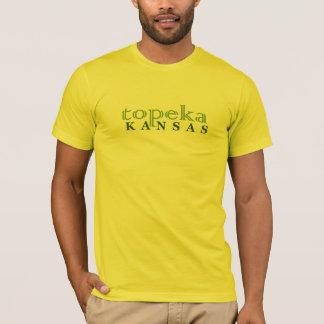 T-shirt vert de topeka le Kansas