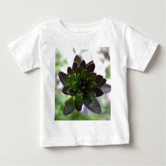 T-shirt vert d'enfant en bas âge de poussin