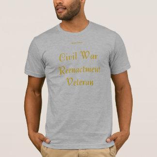 T-shirt Vétéran de reconstitution de guerre civile