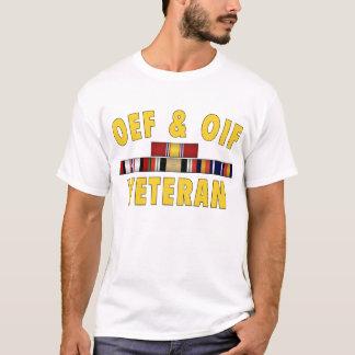 T-shirt Vétéran d'OEF et d'OIF - logo avant