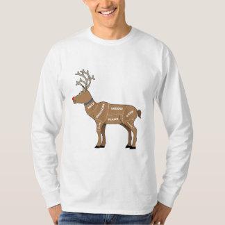 T-shirt Viande de renne pour Noël