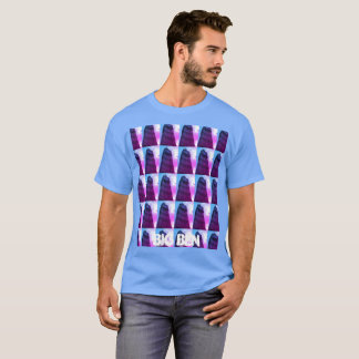 T-shirt vibrant coloré comportant Big Ben