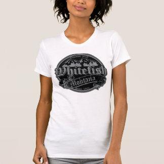 T-shirt Vieil argent inverti de Cantorbéry de poisson à
