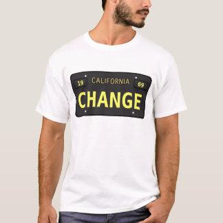 T-shirt Vieille plaque minéralogique de Ca