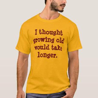 T-shirt vieillir