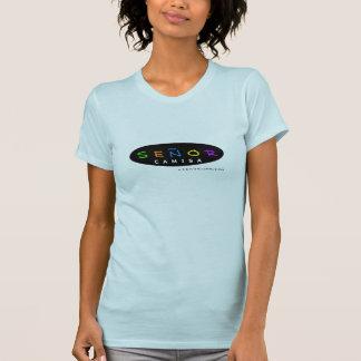 T-shirt vieja d'escuela d'EL Señor Camisa