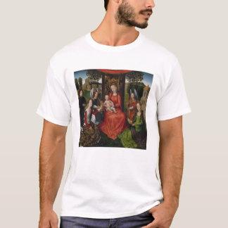 T-shirt Vierge et enfant avec des saints Catherine de
