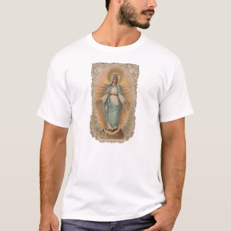 T-shirt Vierge Marie béni - conception impeccable